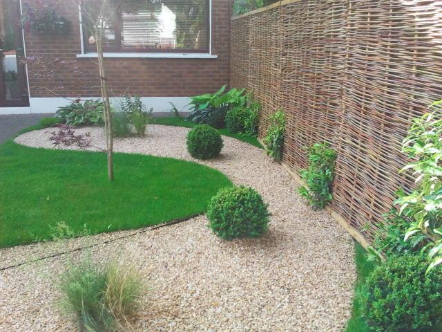 Front Garden Templogue Amazon Landscaping And Garden Design