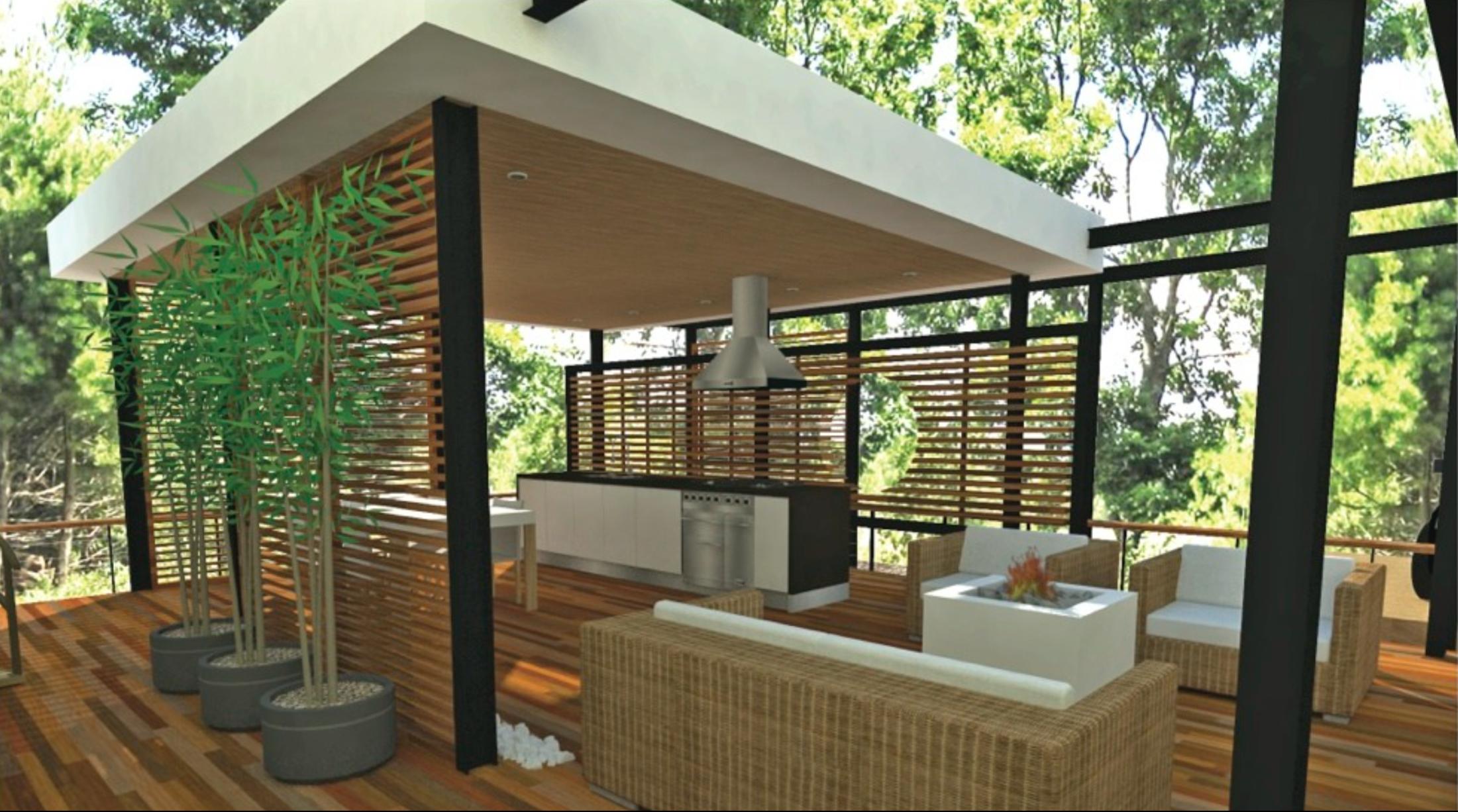 3D Design of Outside Room