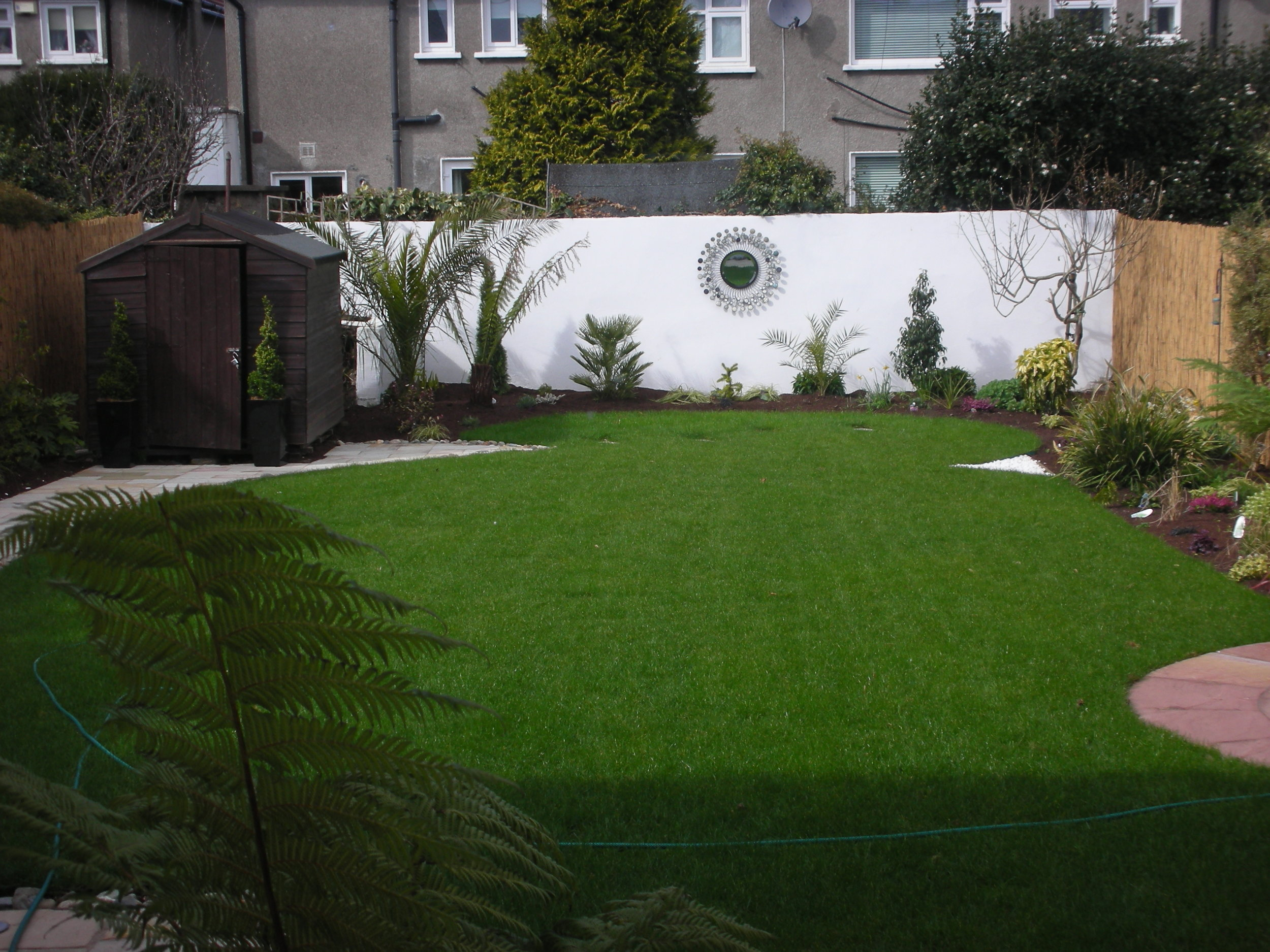 back Garden landscaping .JPG
