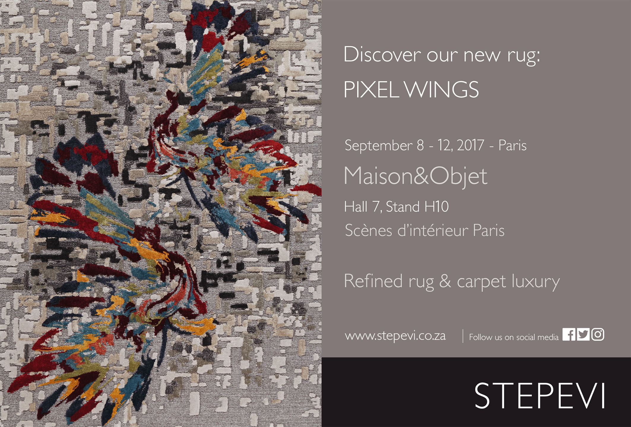 Launching at Maison & Objet, Paris this
