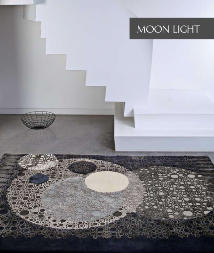NEW - MOON LIGHT COLLECTION  Wool & Viscose