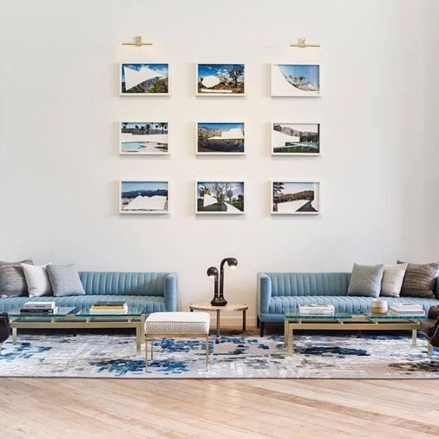 STEPEVI Pixel Rug adorns the lobby of the Kimpton Rowan Palm Springs Hotel in California. The hotel was recently voted as the Top Hotel in Southern California by Conde Nast  Traveler Reader's Choice Awards. #rowanhotel #hoteldesign #rugdesign #ihavethisthingwithfloors #hotelinteriors #lobbydesign #californiahotels #bespokerugs #luxurydecor #modernrugs #contemporaryhotel #hoteldecor #condenasttraveler #cntraveler