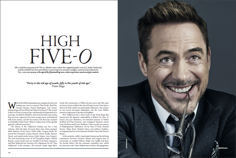 High Five-O: Actors In Their Fifties (The Rake)