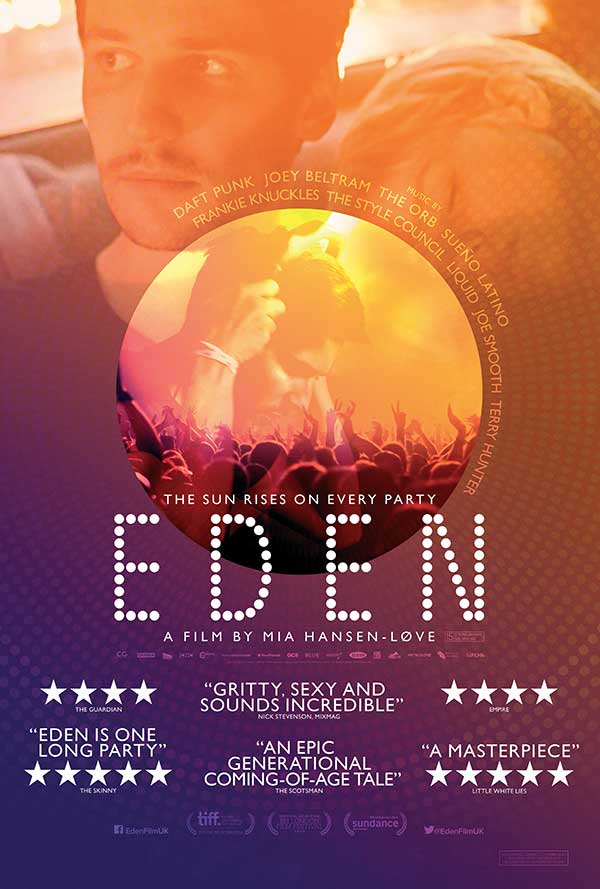 Eden : Flaubert meets Daft Punk (Huffington Post)