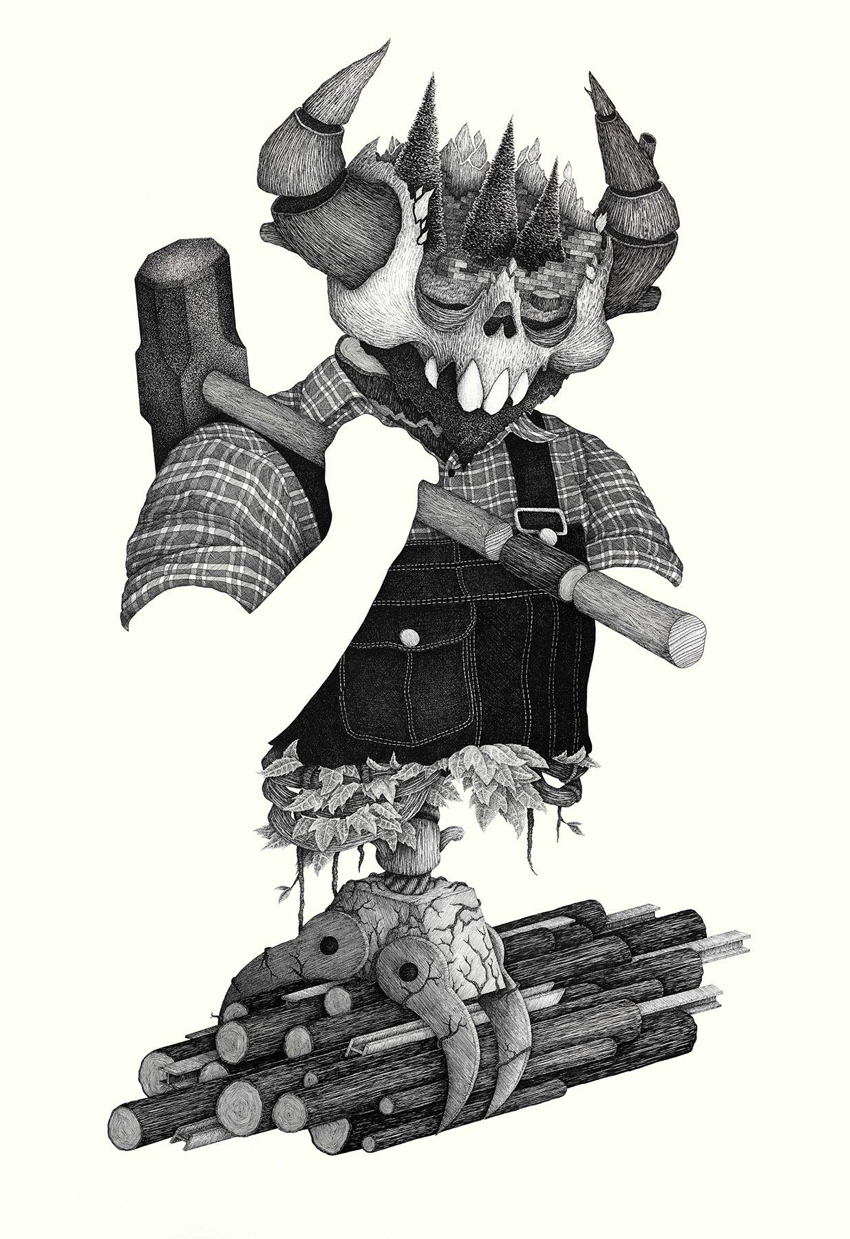 Second Shift (Illustration)  | 2016