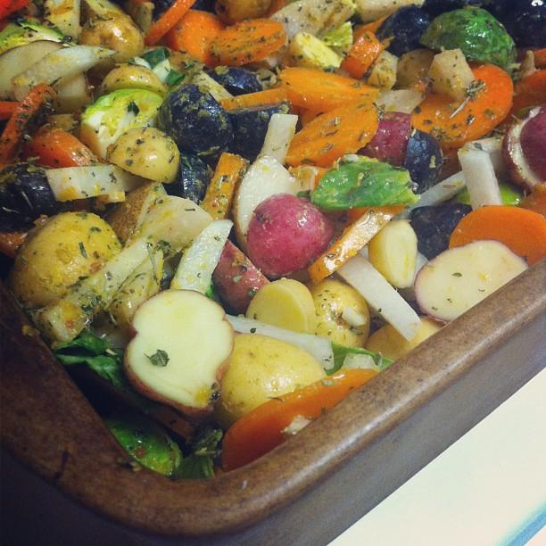 root veggie bake