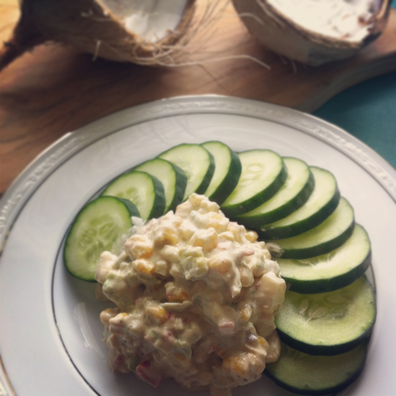 raw 'egg' salad