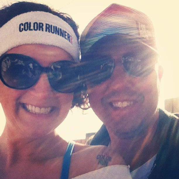 before color run