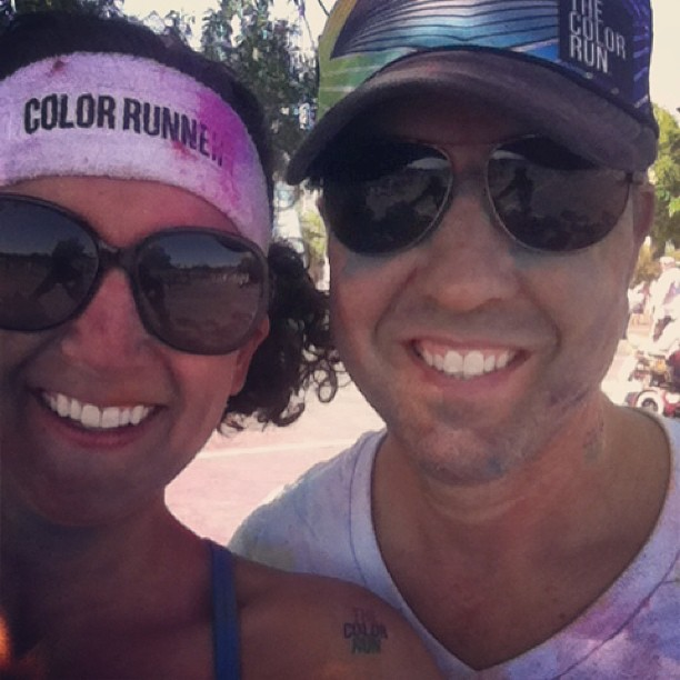 after color run
