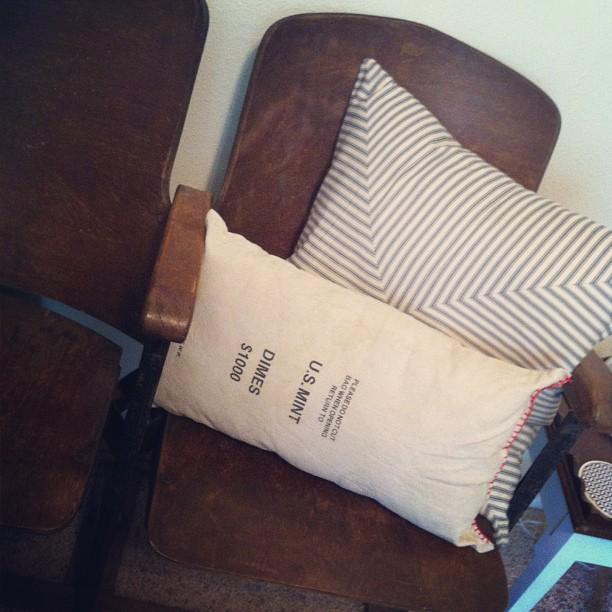 made a pillow
