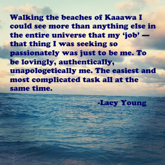 walking the beaches quote