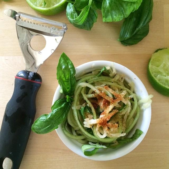 Cucumber + Jicama Slaw