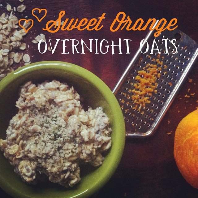 SWEET ORANGE OVERNIGHT OATS