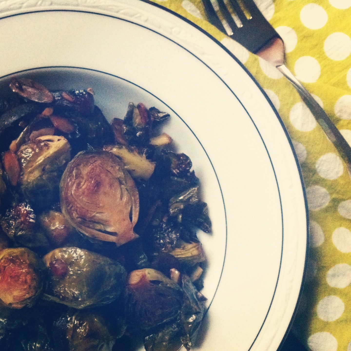 Roasted Brussels and Beets