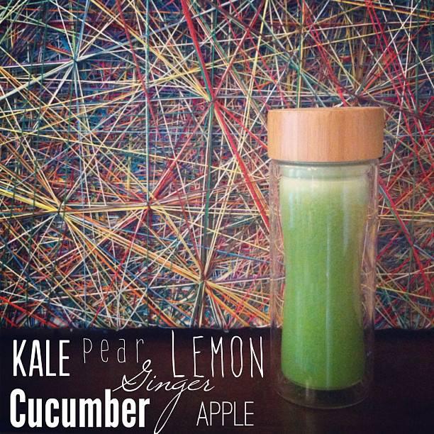 Kale and Cucumber Tango