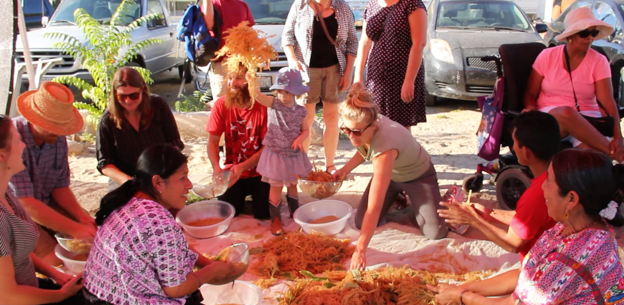 Harvest at Side Street Projects September 2014