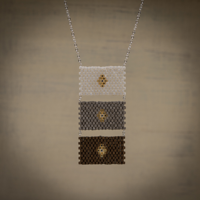Collar Tres RECTANGULOS $ 850 pesos