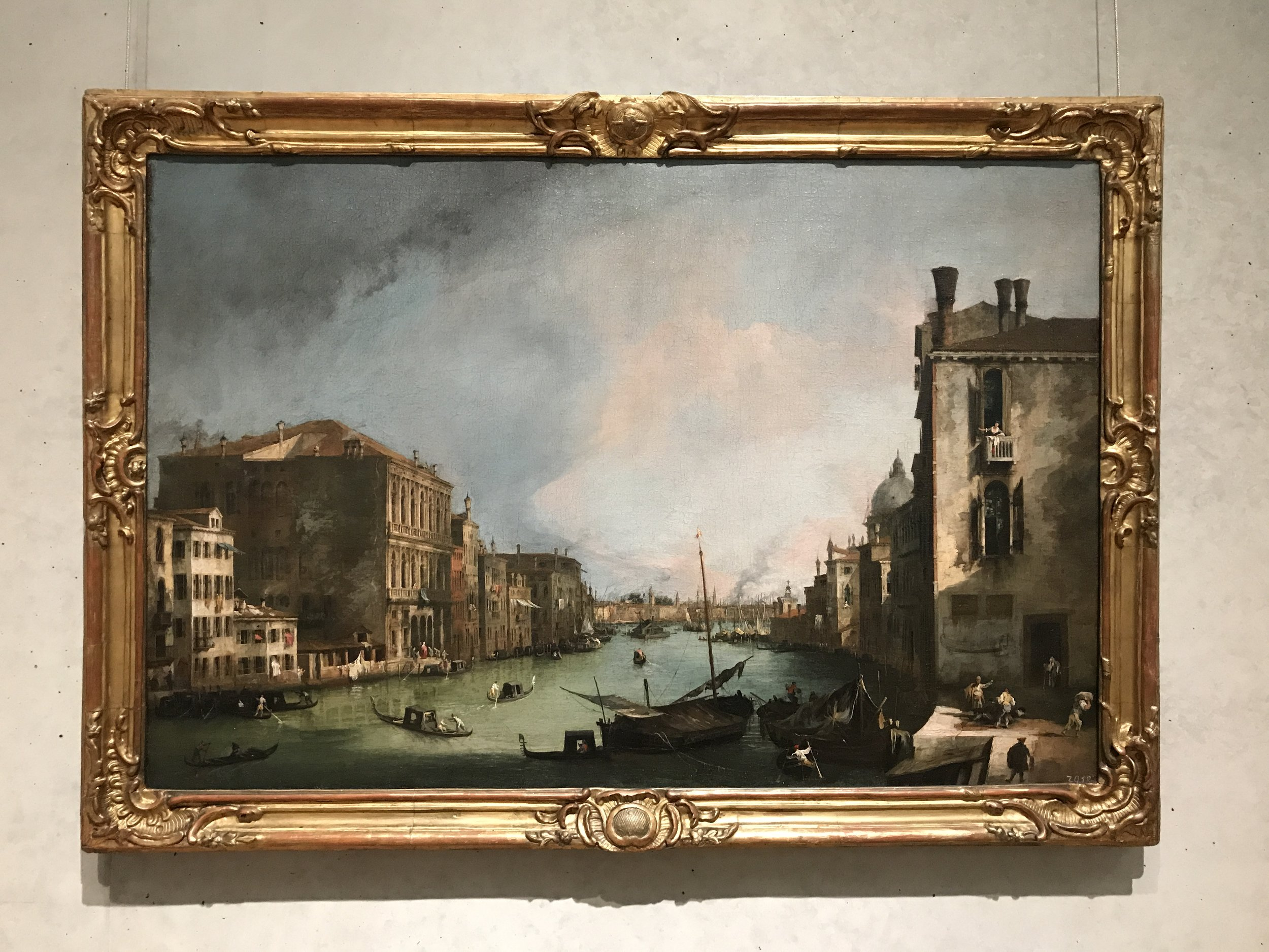The Canal Grande in Venice - Canaletto