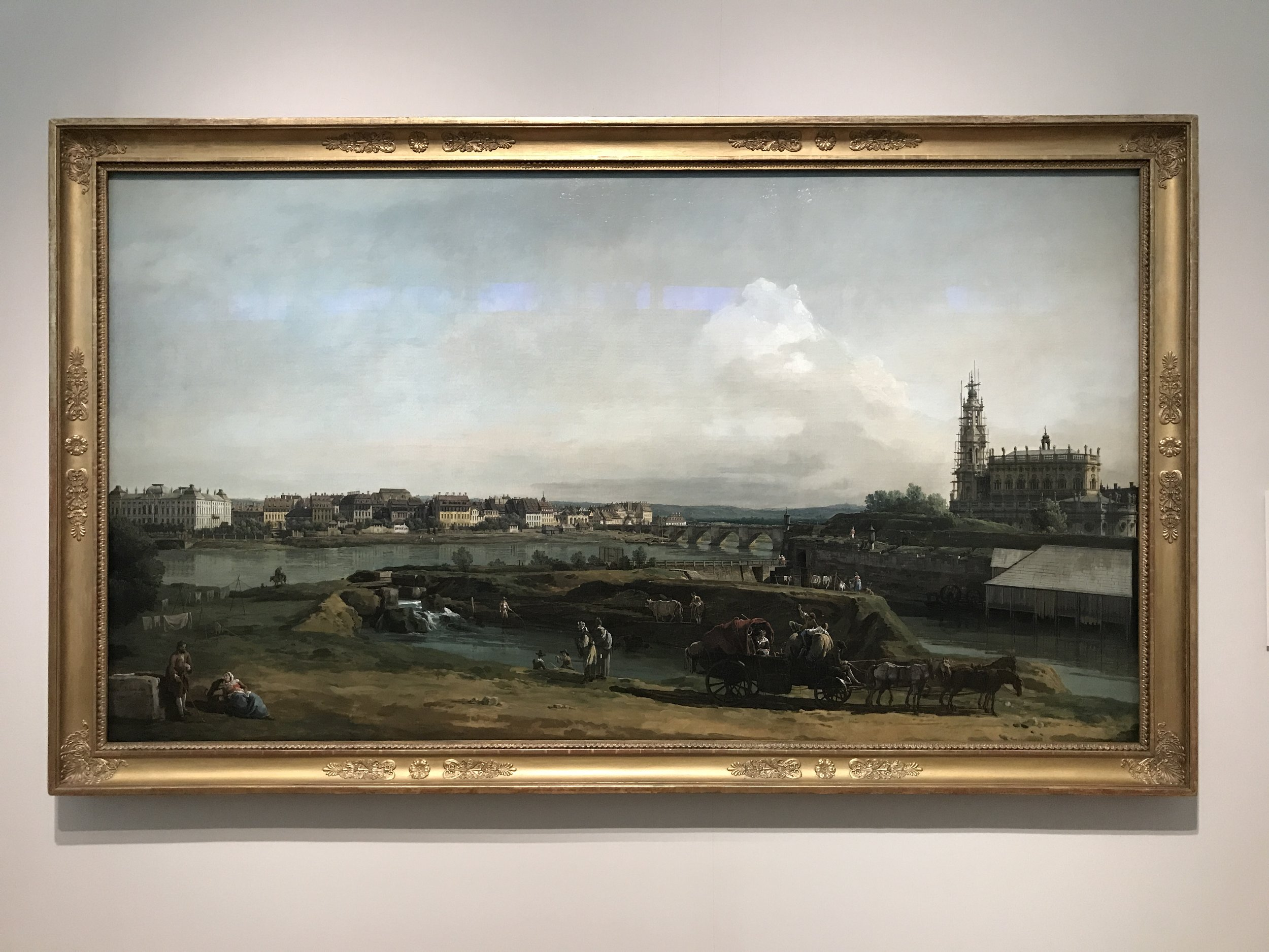 Dresden from the Right Bank of the Elbe - Bellotto