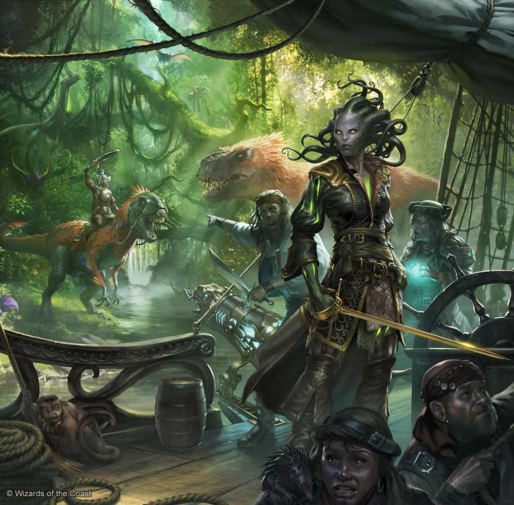 Magic The Gathering Chris Rallis Fantasy Art