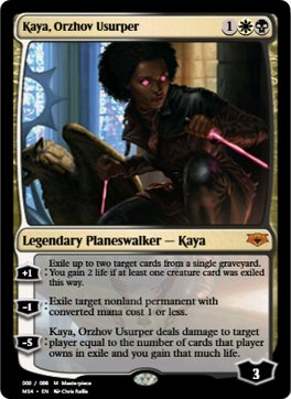 Kaya Orzhov Usurper Chris Rallis Fantasy Art She was loathed upon spoiler and deemed by many to be unplayable. kaya orzhov usurper chris rallis fantasy art