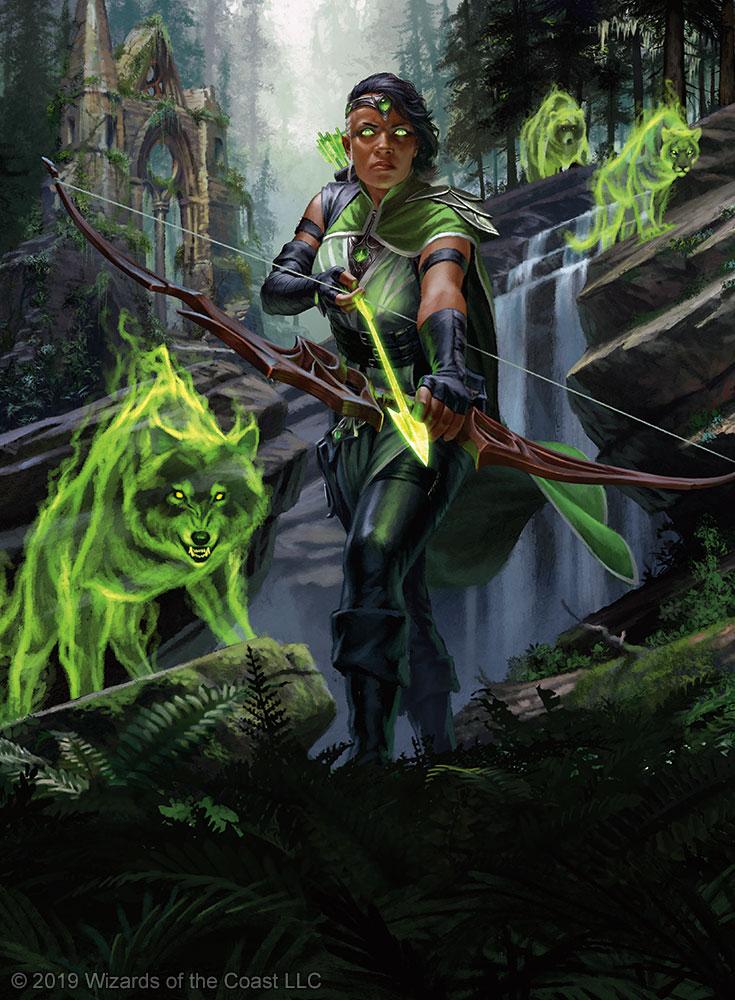 Core Set 2020: Vivien, Nature's Avenger