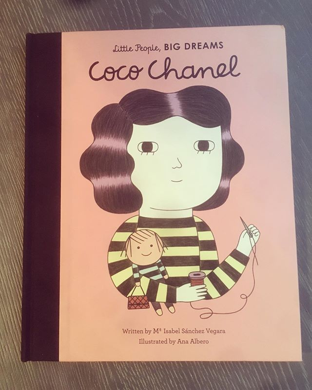Our baby girl is due to arrive Monday and I can't wait to read this to her (and all the other books in this series)! #mom #littlepeoplebigdreams #cocochanel #personalstylist #leahbprice