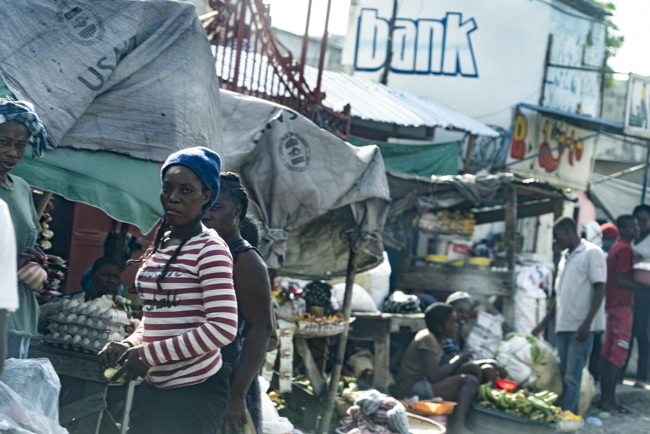 Streets of Cité Soliel, Haiti