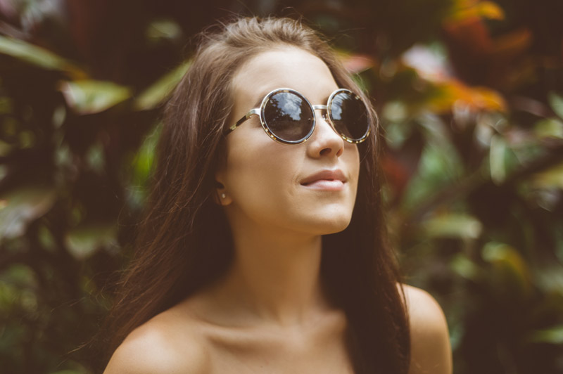 Hawaii Lifestyle Fashion Sunglasses Photography