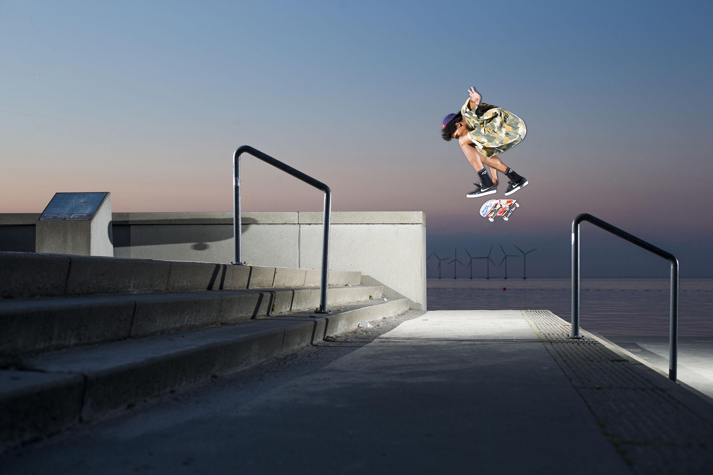 Korahn Gayle - switch backside flip