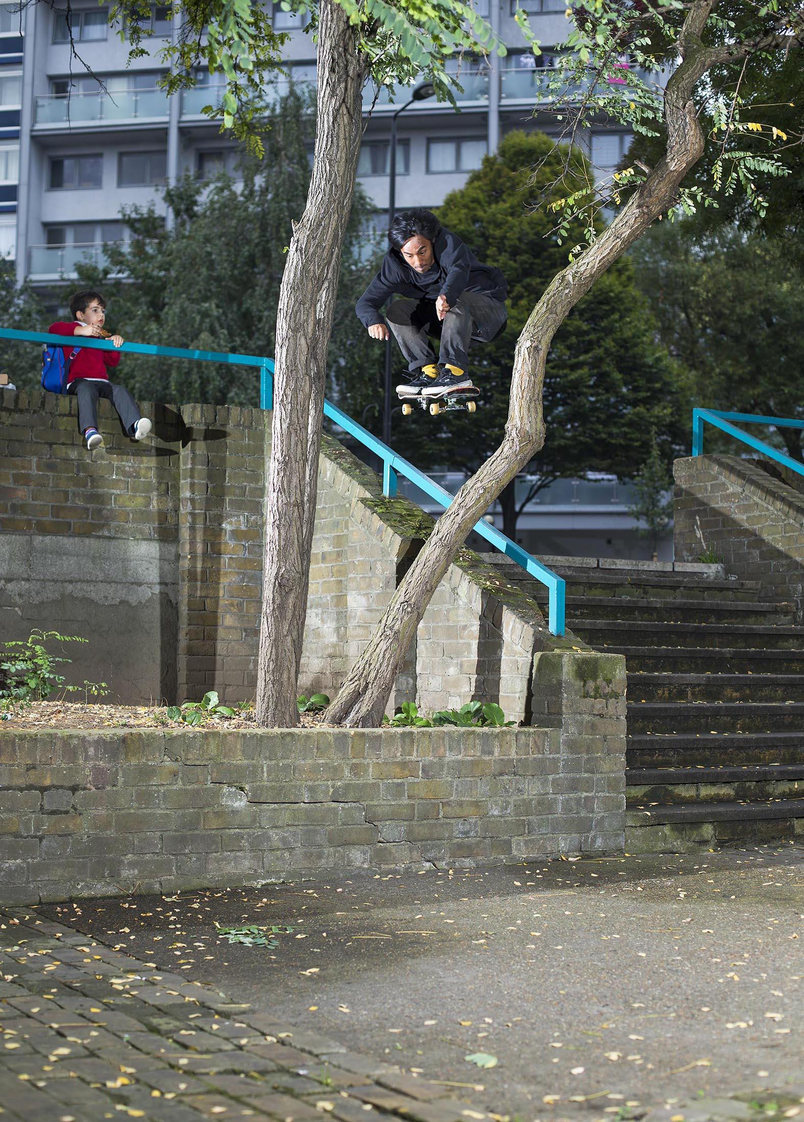 Daryl Dominguez - tree ollie