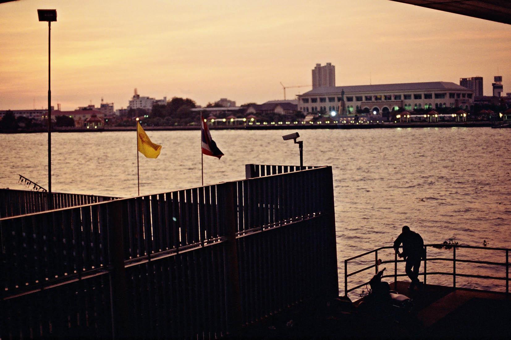 Shot on a Minolta X-300. Bangkok, 2012.