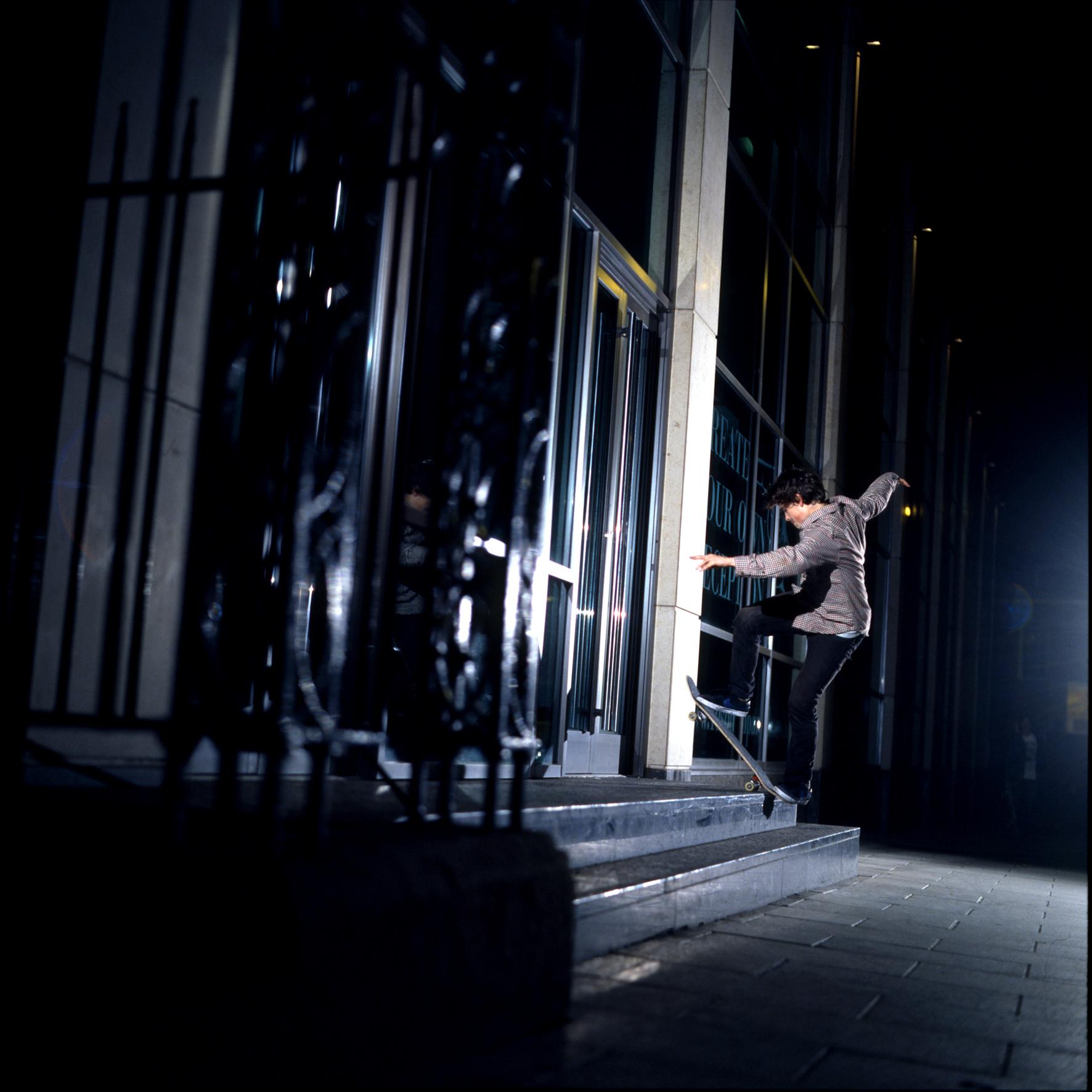 Vaughan Jones - frontside bluntslide