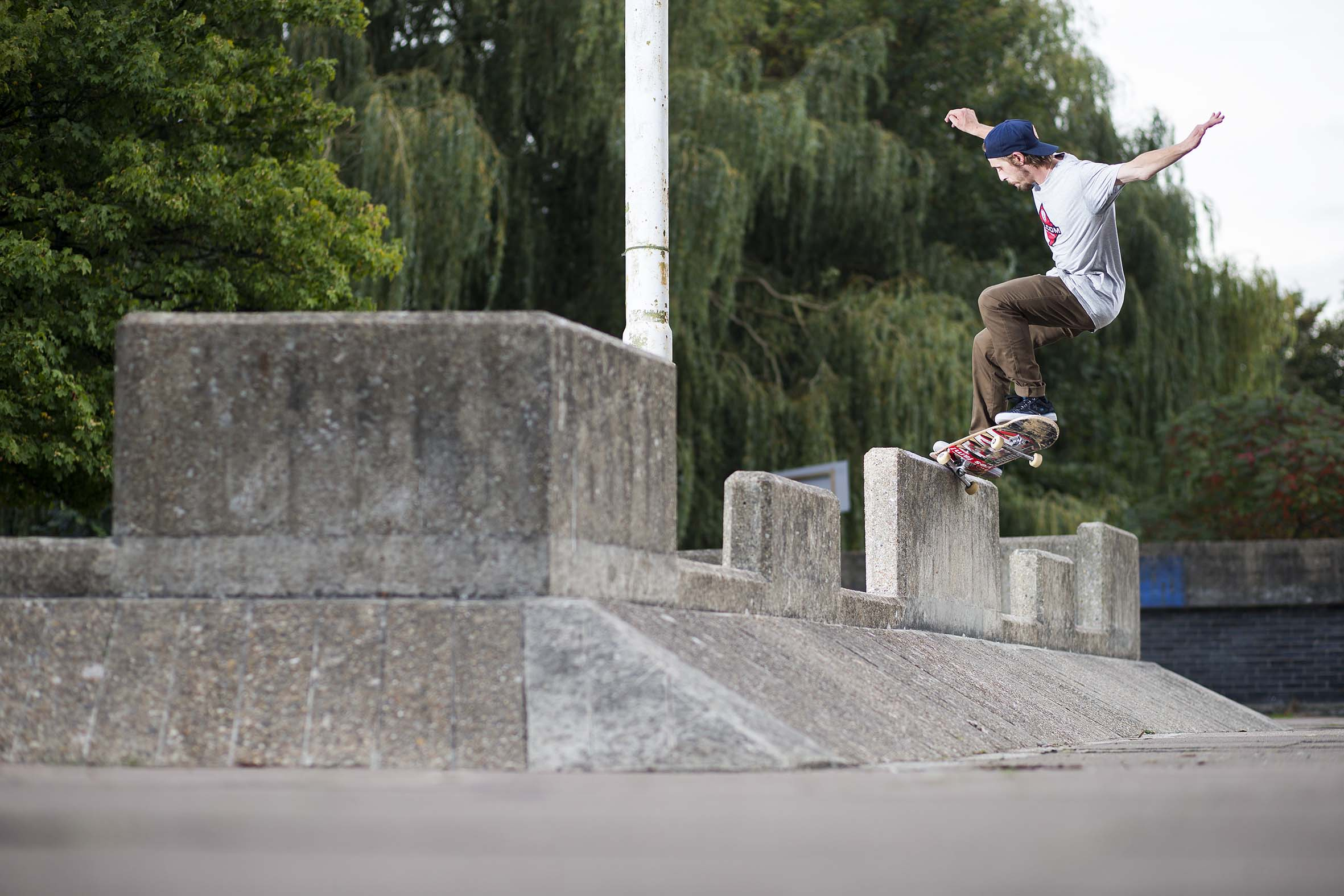 Harry Lintell - frontside crook to fakie