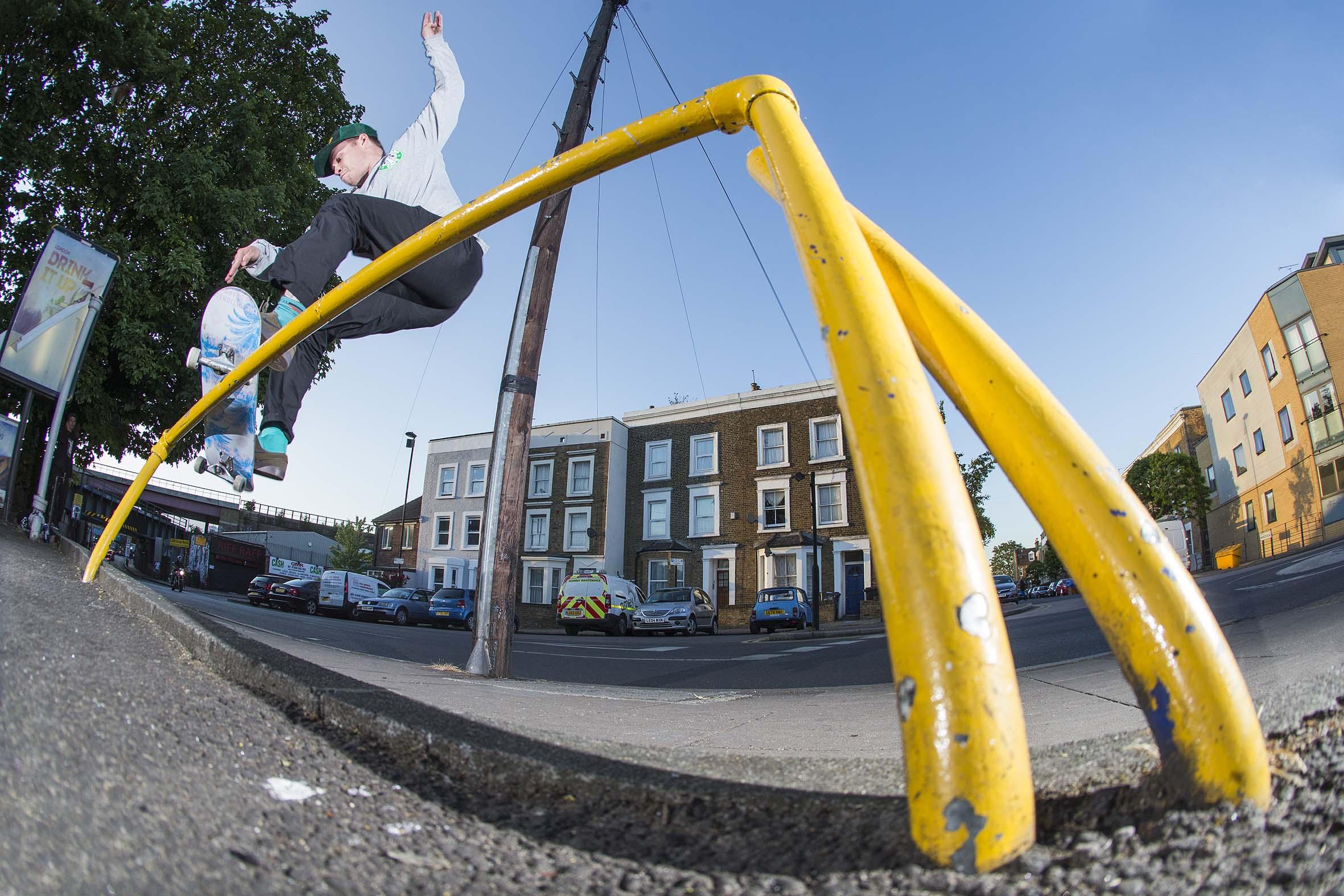Matt Hay - frontside smith