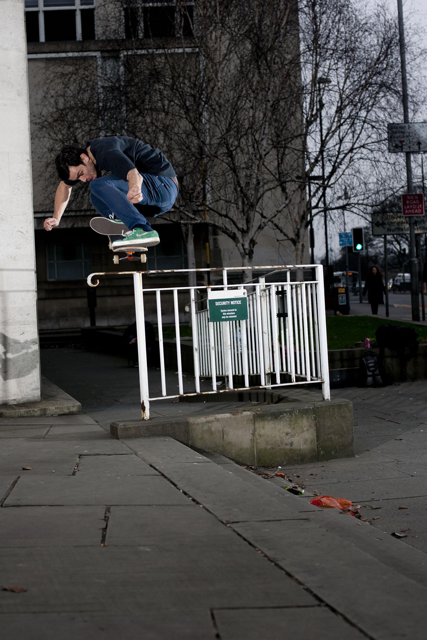 Tom Harrison - ollie