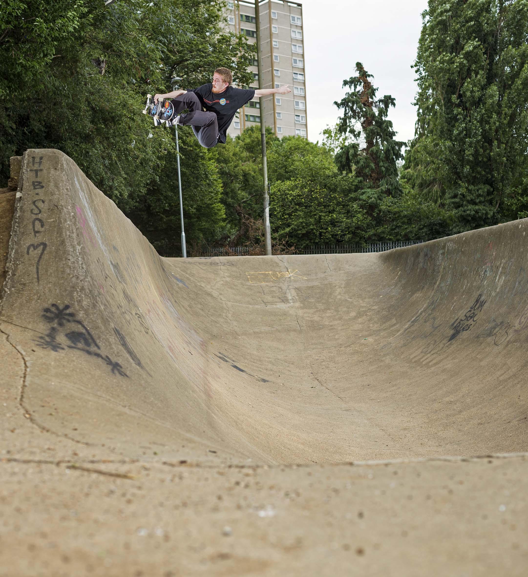 Kieran Menzies - frontside air