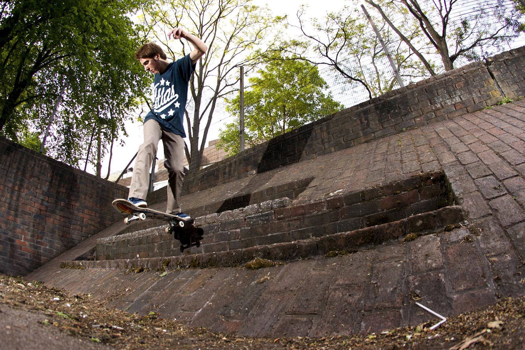 Mark Suciu - bank to bank backside tailslide