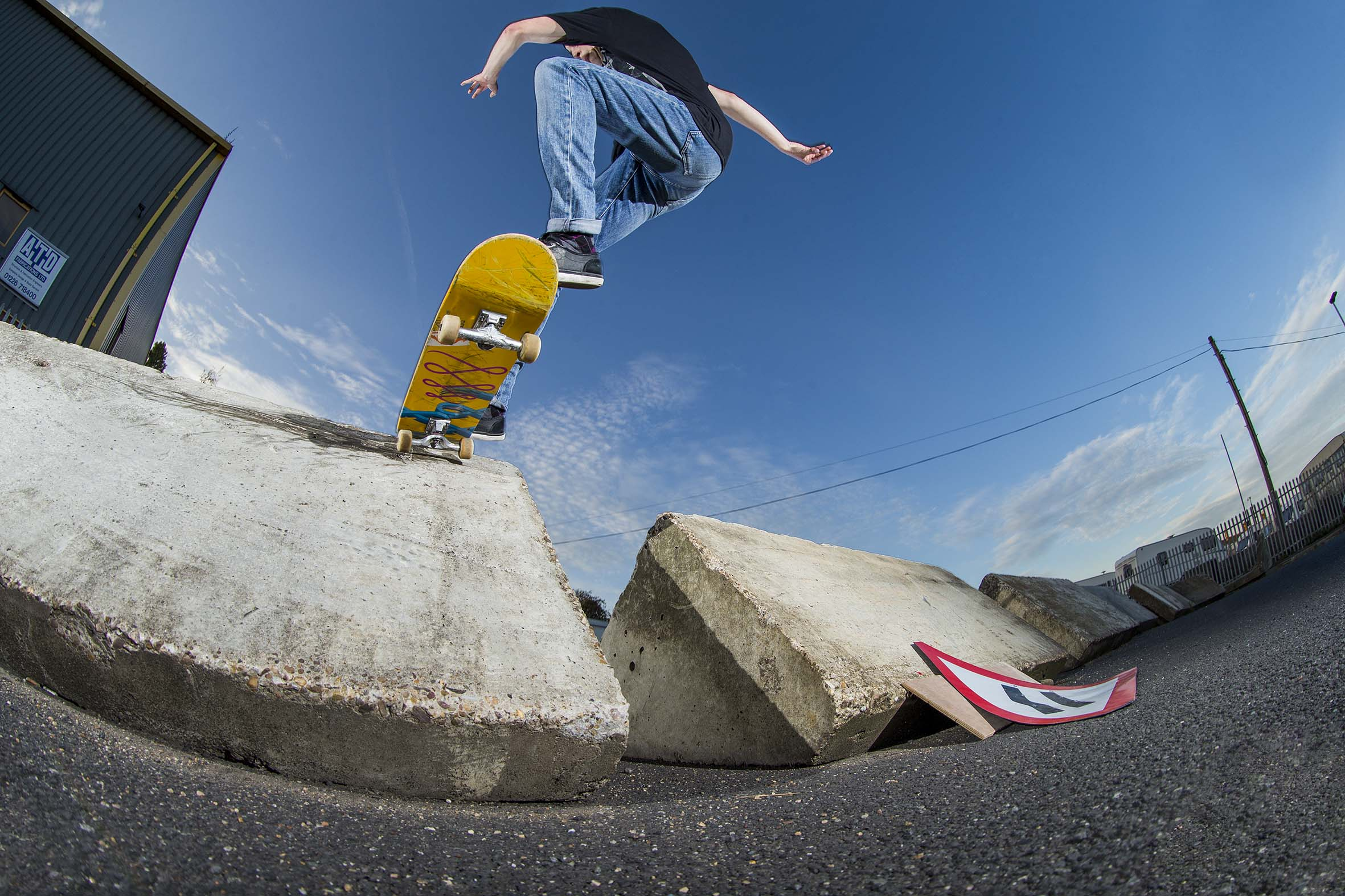 Myles Rushforth - gap frontside tailslide