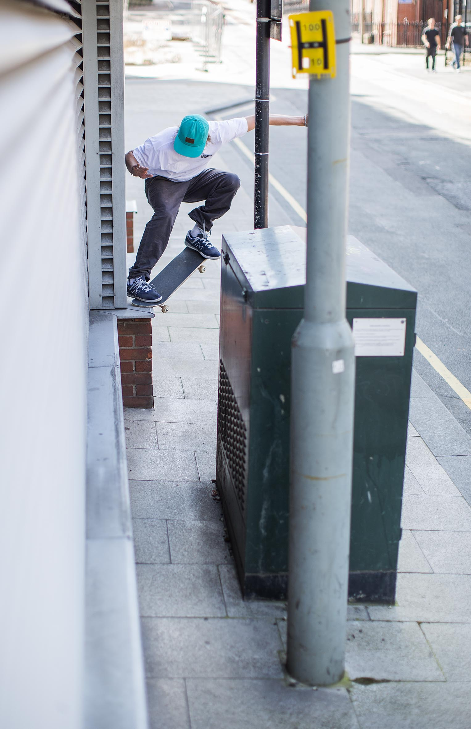 Mark Baines - crook to tight landing
