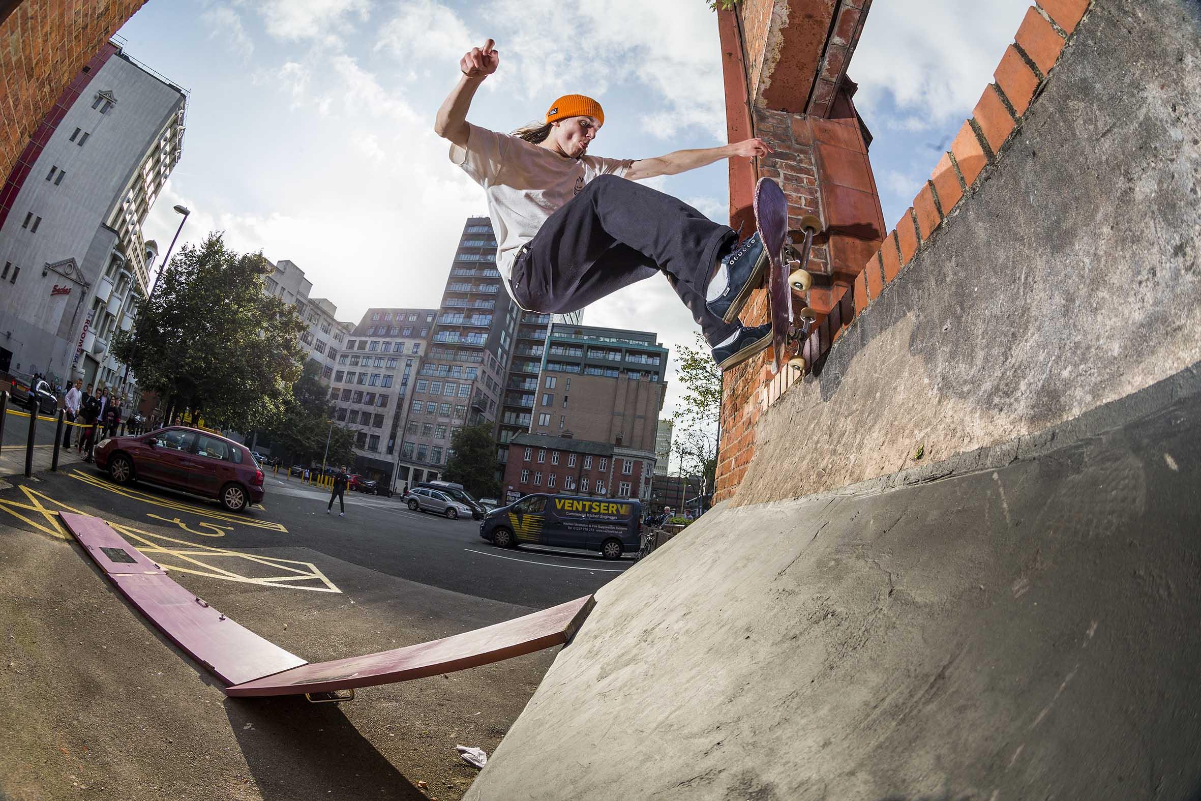 Zach Riley - frontside pivot