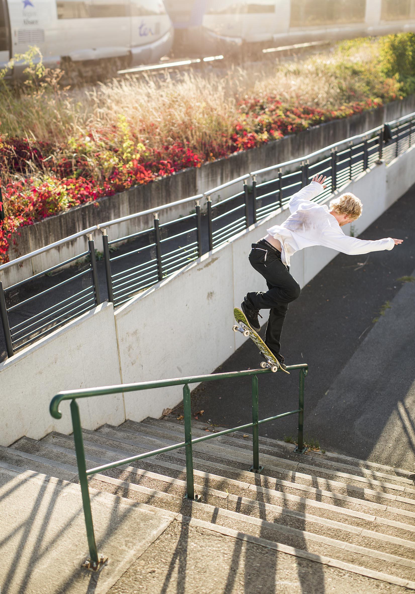 Jordan Sharkey - backside overcrook