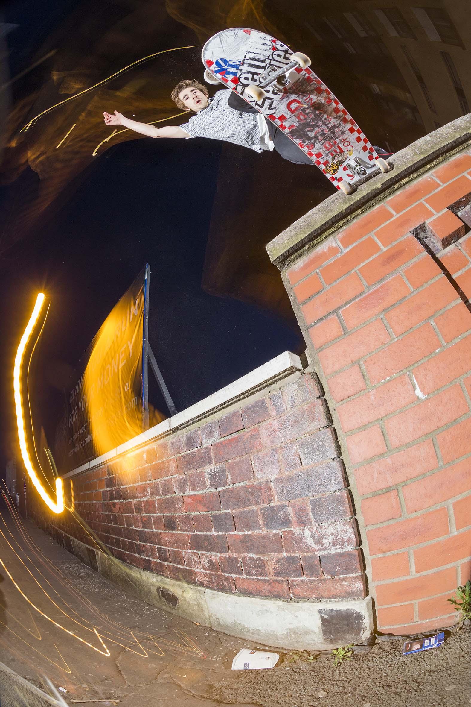 Ben Rowles - backside tailslide