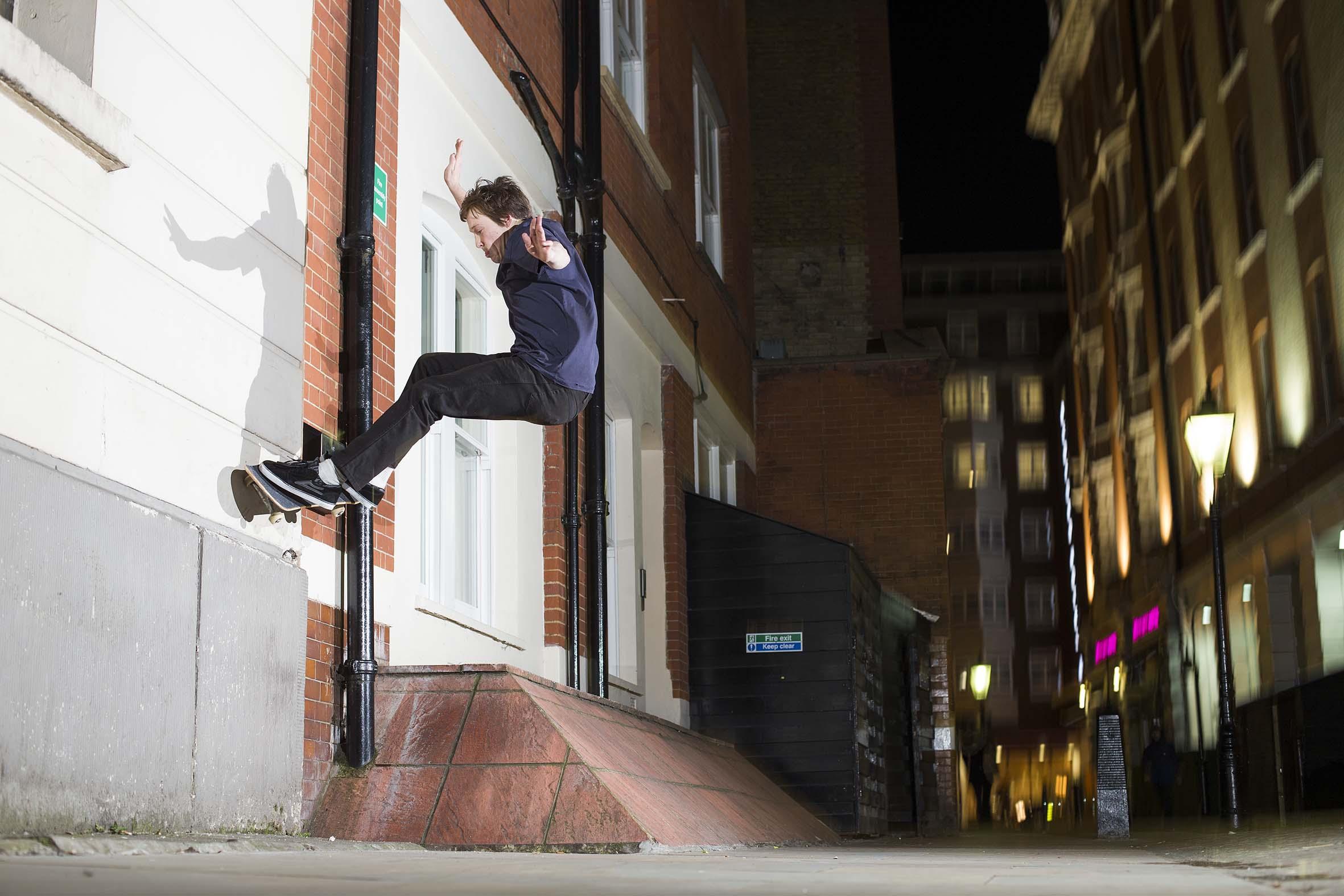 Josh Cox - gap frontside wallride