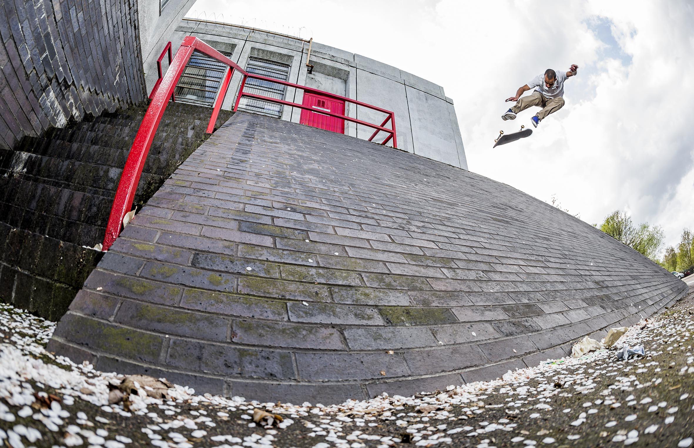 Jerome Campbell - backside kickflip