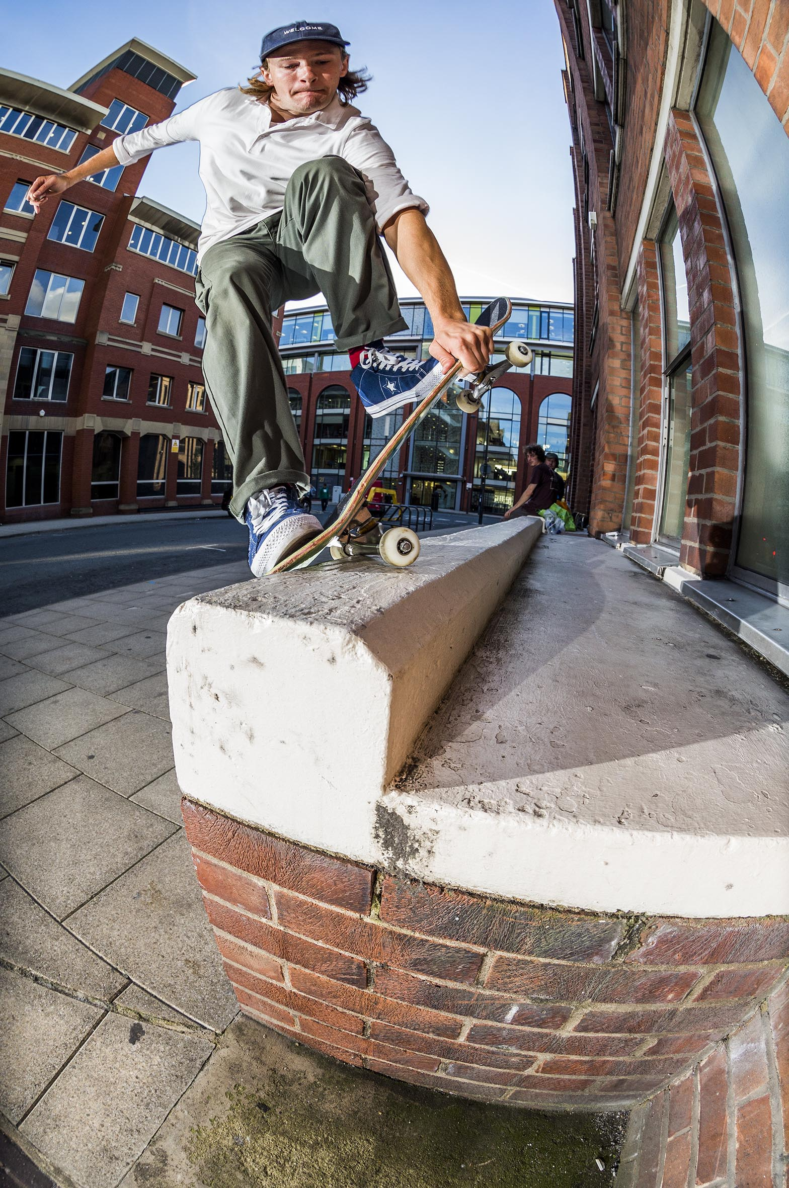 Liam Hobson - chuck on nosegrind