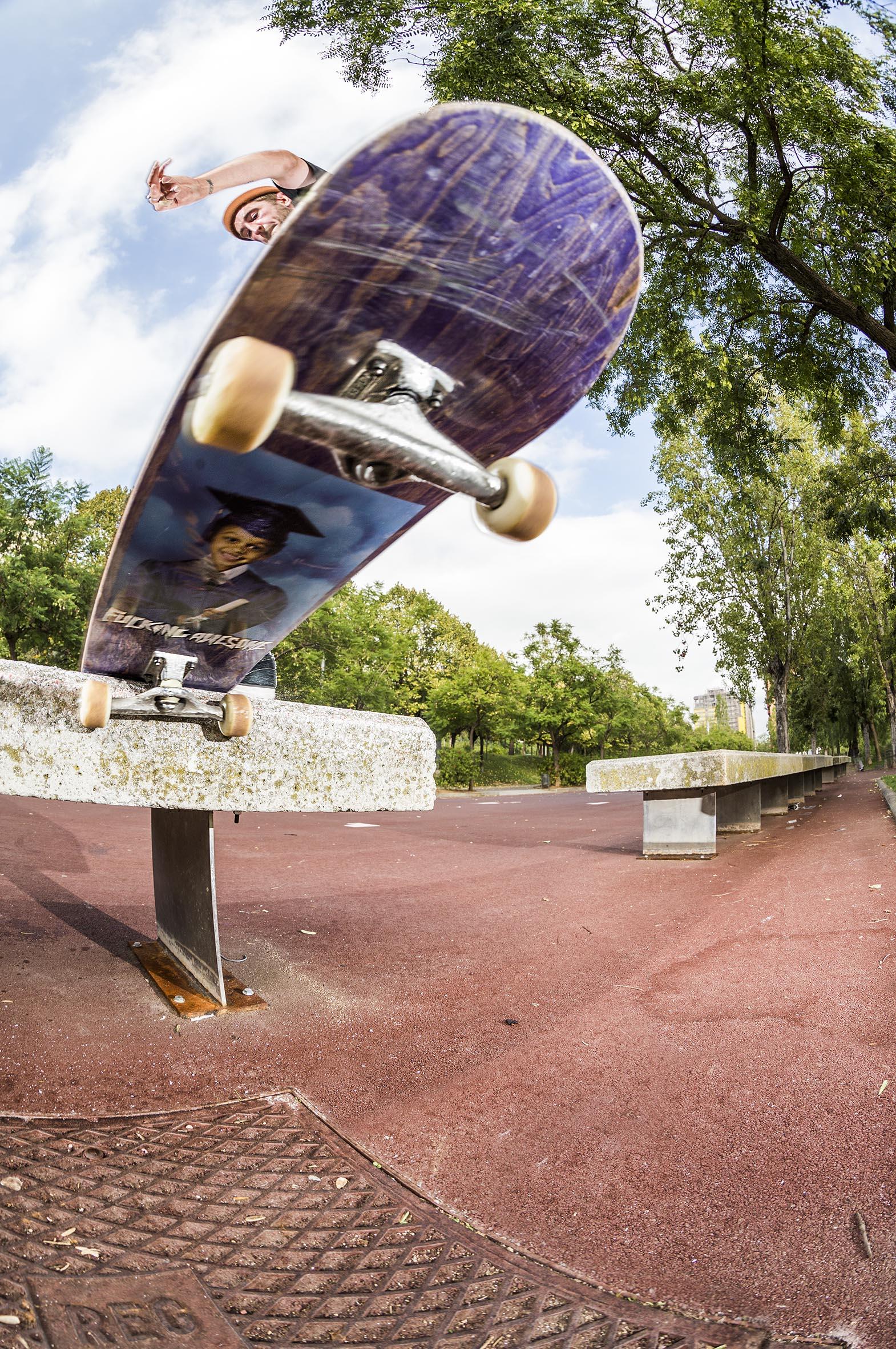 Tom Zealand - gap frontside tailslide