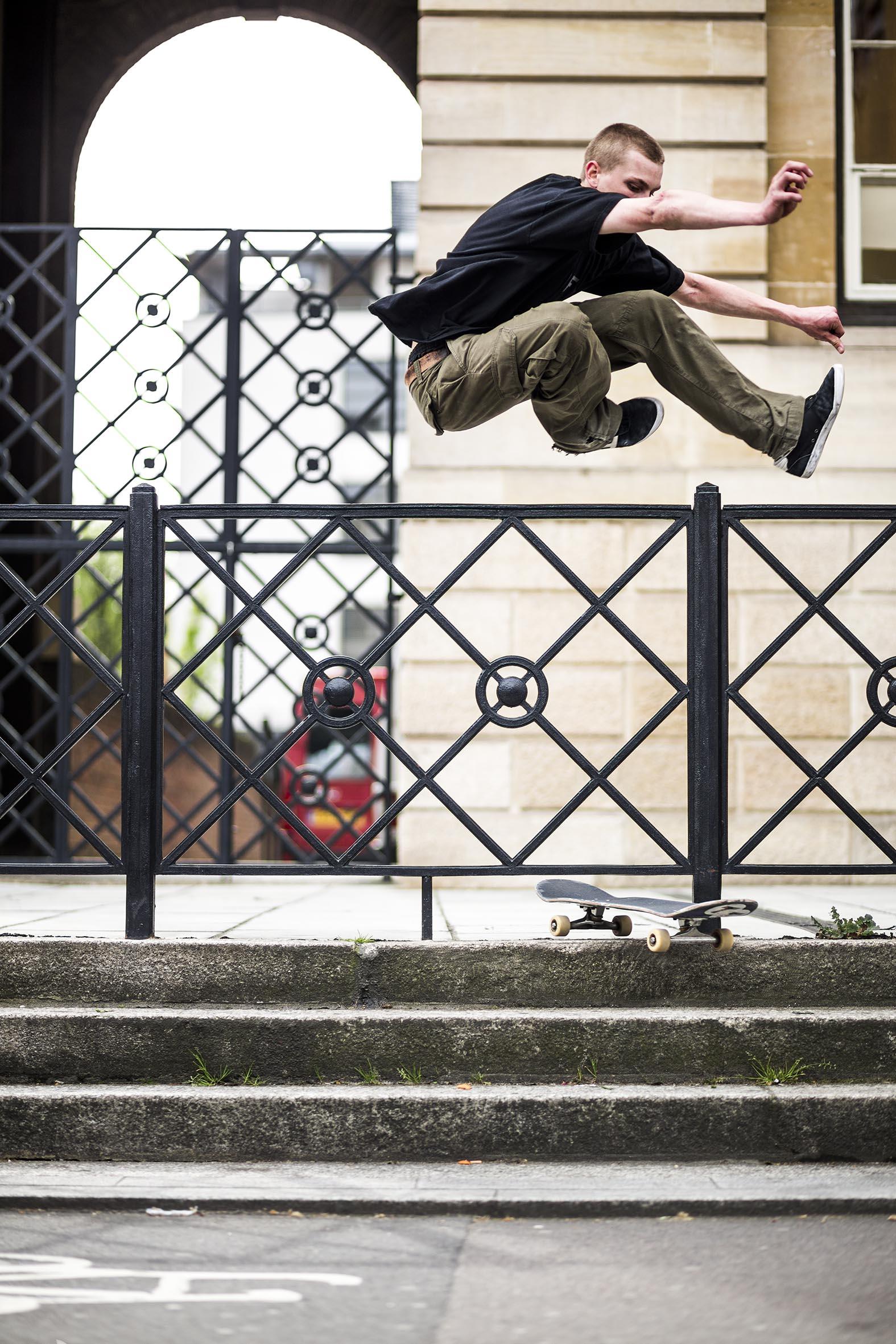 Joel Banner - hippy jump