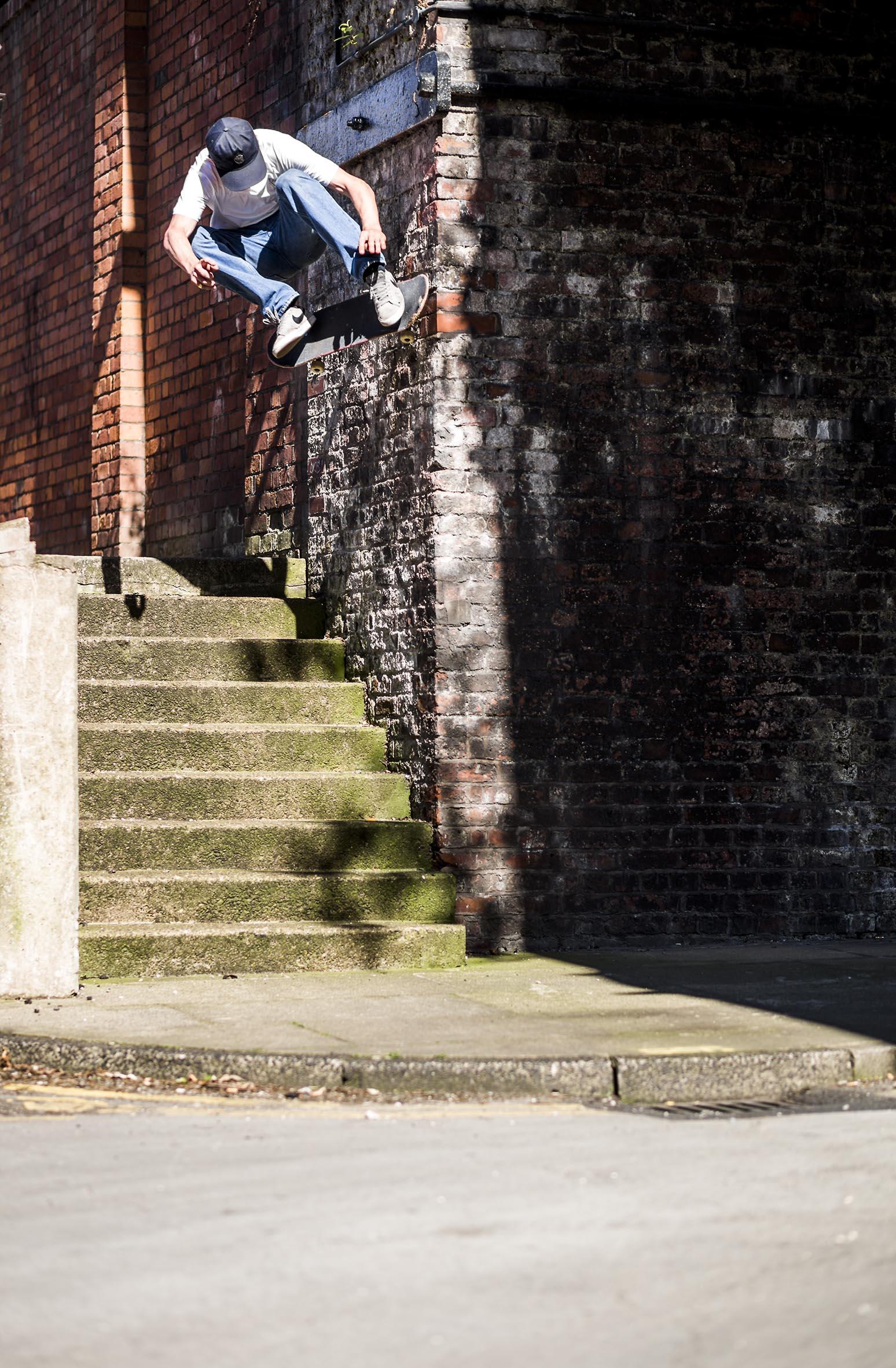 Charlie Birch - wallride nollie