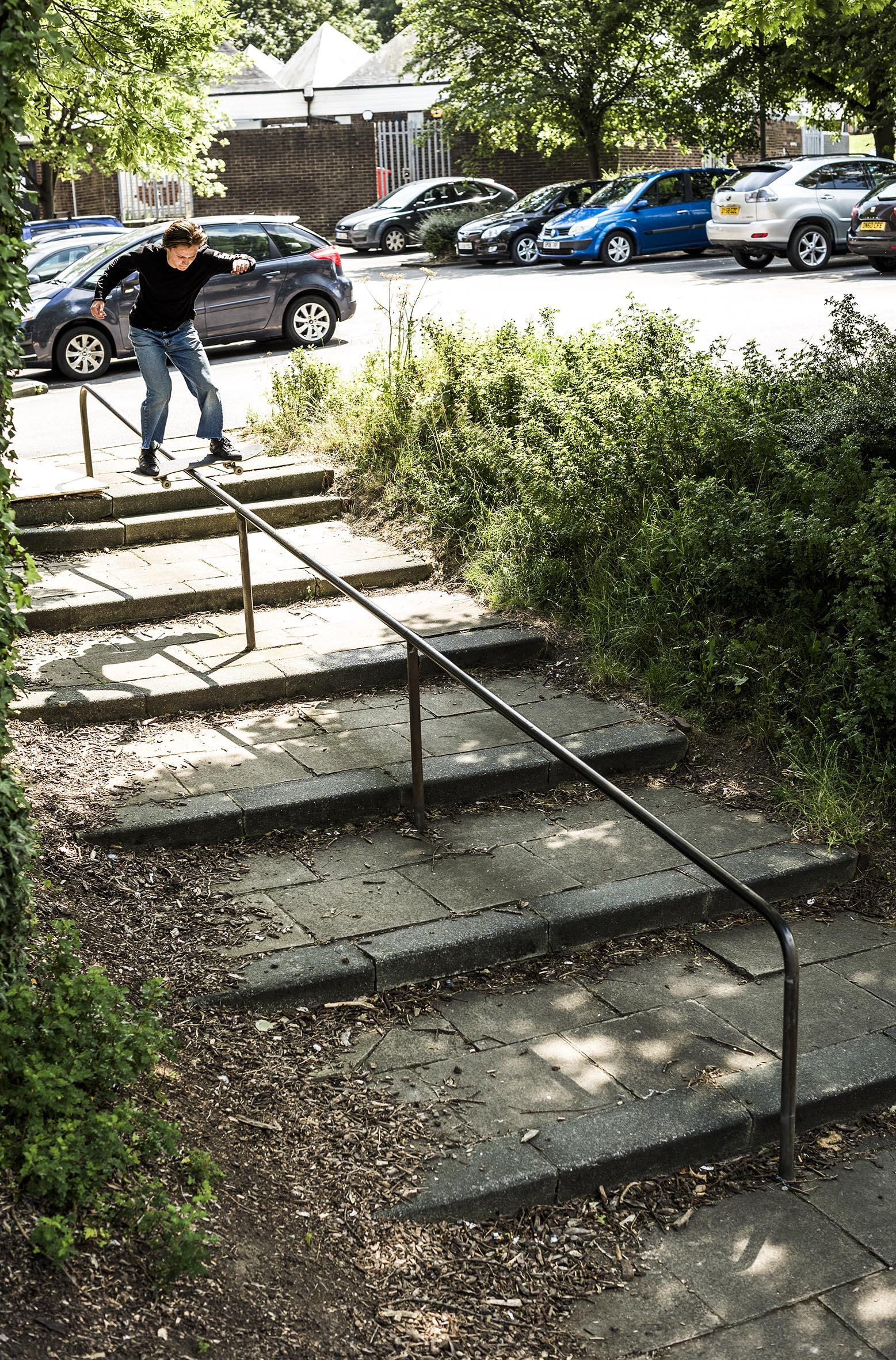 Matlok Bennett-Jones - boardslide